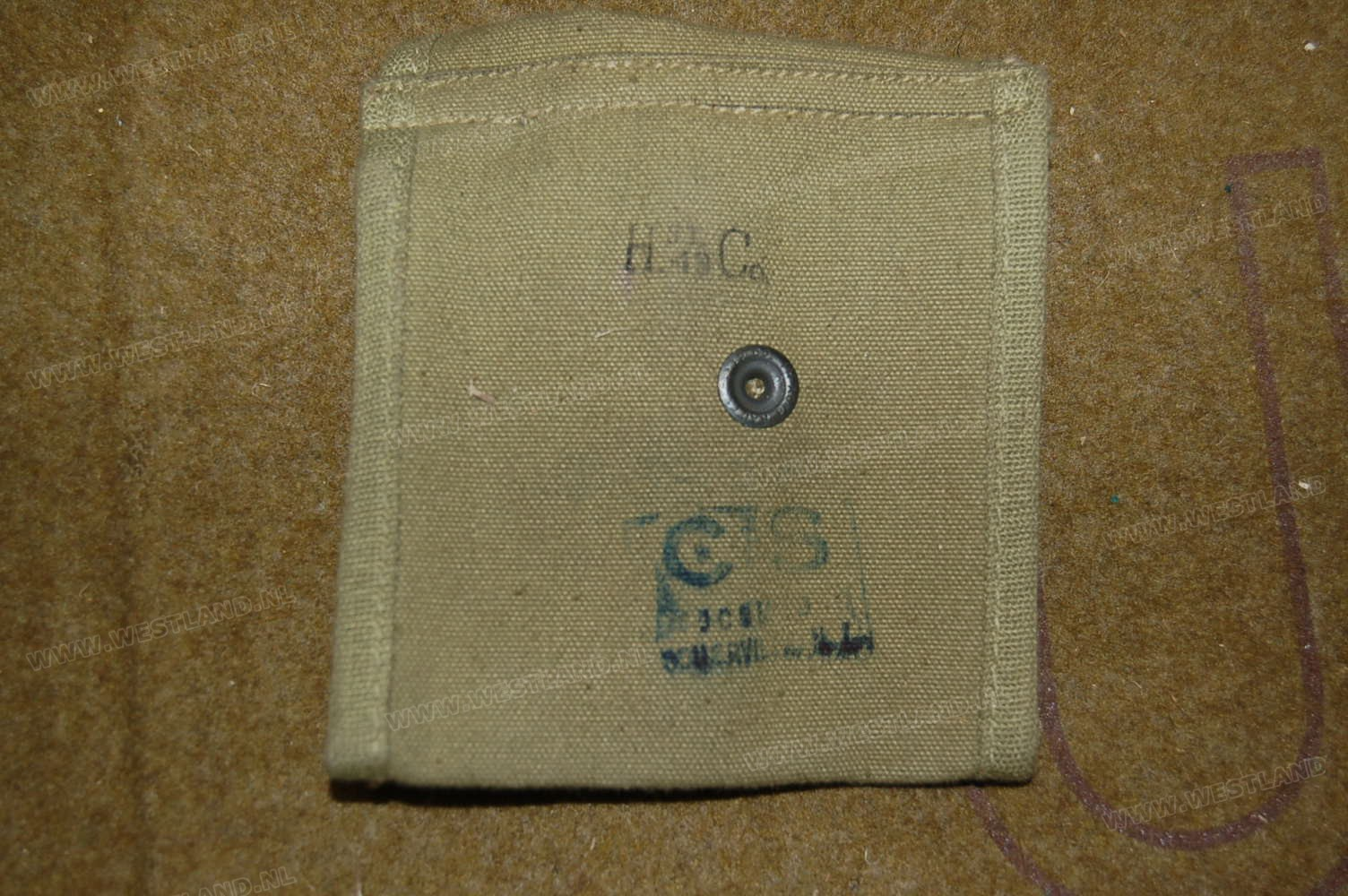 M1 Carbine Stock Pouch Cs Stamped