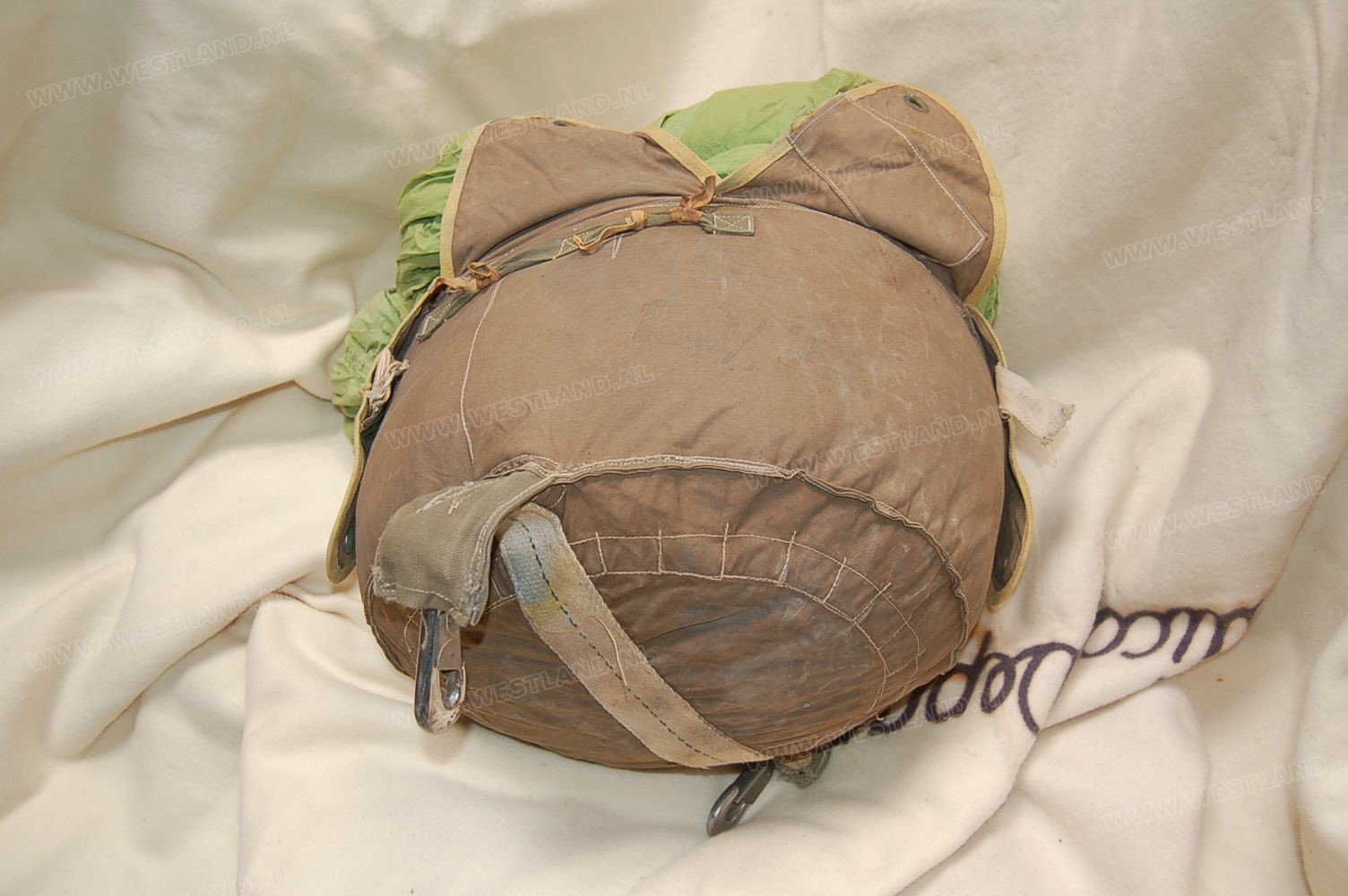 Wwii Green Container Parachute