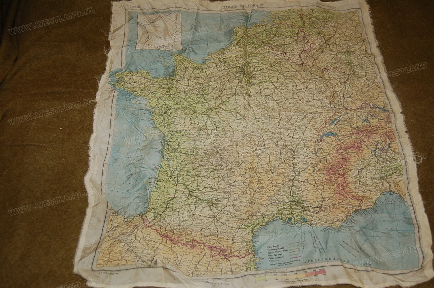 Map Of France Zones.Zones Of France Escape Map