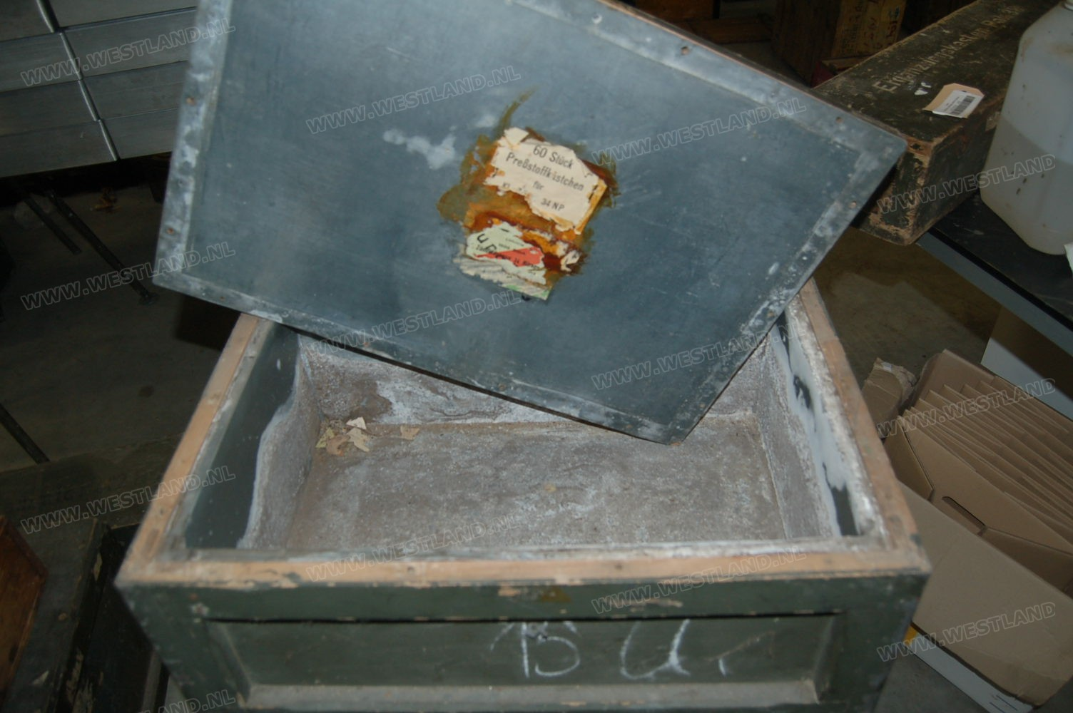 German Ammo Box 8cm Mortar Fuse