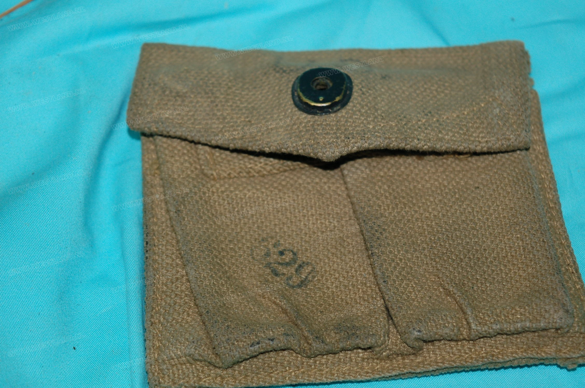 British Made M1 Carbine Stock Pouch