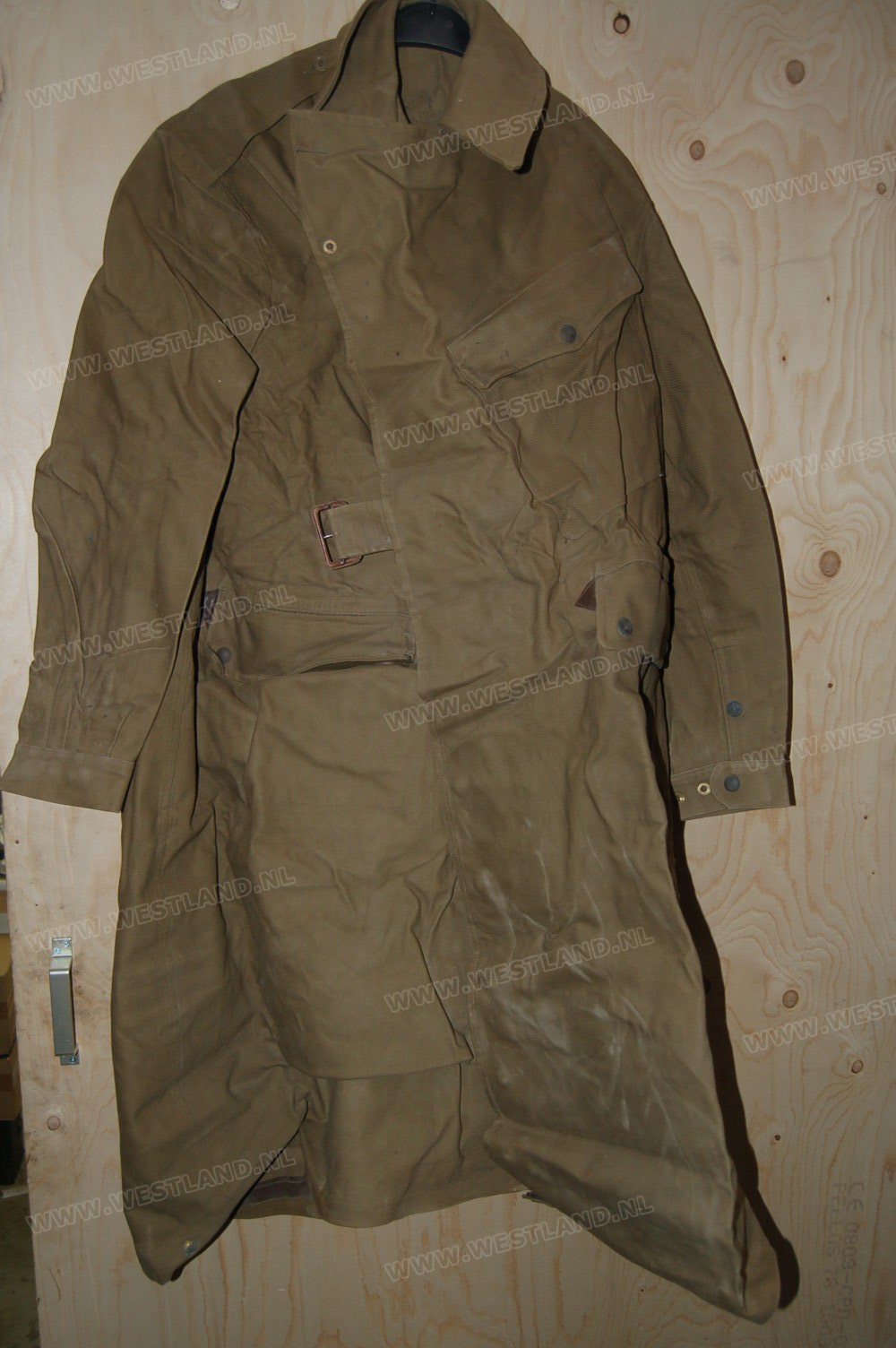 Wwii British Dispatch Riders Coat Mint Size 8