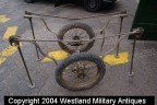 WWII british Airborne Stretcher Folding Trolly