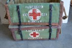 WWII Field Dental Pannier 1 and 2