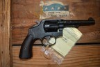 British issue S&W 38 Victory revolver