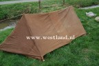 WWII british dated pup tent