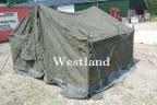 Excellent Rubberrized tent white inside