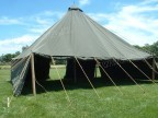 WWII dated pyramidal tent original